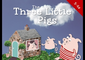 Screen grab of The 3 Little Pigs