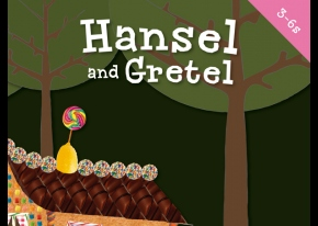 Screen grab of Hansel & Gretel