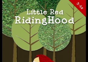 Screen grab of Little Red Riding Hood